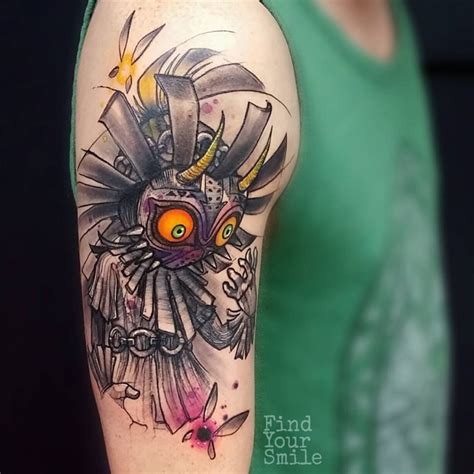 watercolor tattoo zelda 59 brilliant reasons to get watercolor tattoos page 6 of