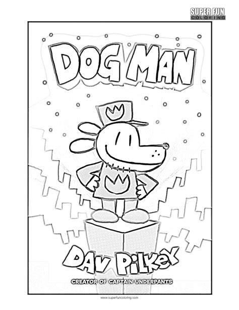 free coloring book pages dogman coloring page coloring
