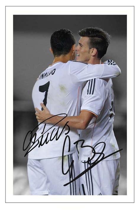 Real Madrid Signature 9 cristiano ronaldo gareth bale real madrid autograph