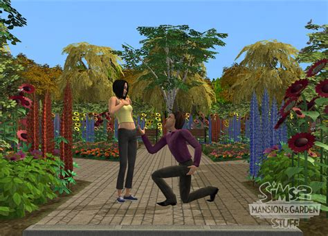 sims 2 garten 2 new screens and renders for the sims 2 mansion garden