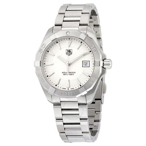 Tag Heuer Aquaracer Way1111 Ba0910 tag heuer aquaracer silver stainless steel s