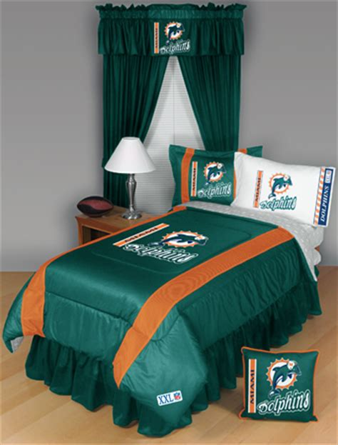 miami dolphins nfl twin chenille embroidered comforter set with 2 shams 64 x 86 miami dolphins comforter miami dolphins nfl chenille embroidered comforter set nfl miami