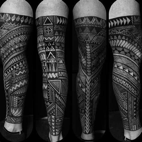 tribal tattoos glasgow kingofbones with this hashtag free tribal leg sleeve