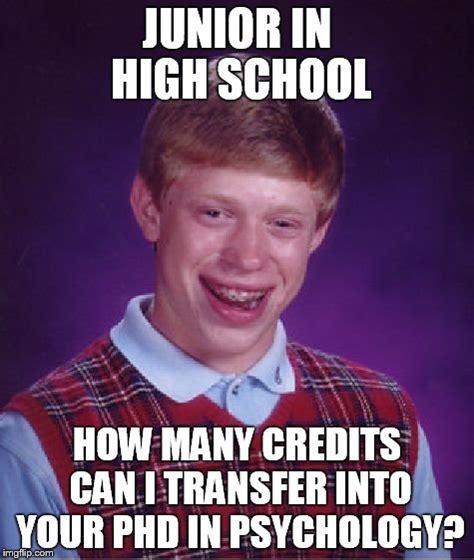 Junior Meme - bad luck brian meme imgflip