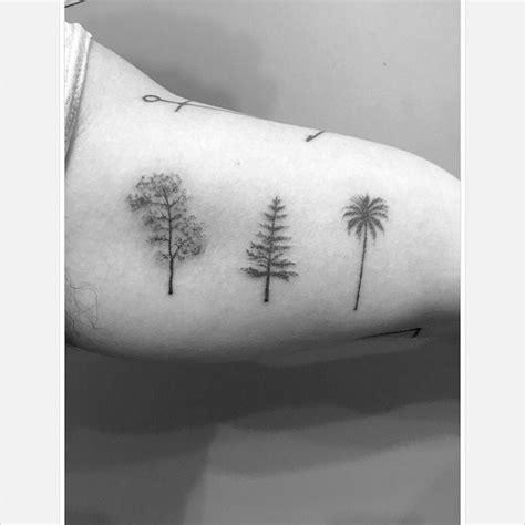 oak pine palm tree tattoos best tattoo ideas gallery