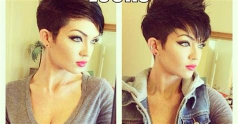 how to style a pixie cut different ways black hair how to style a pixie haircut two different ways hair