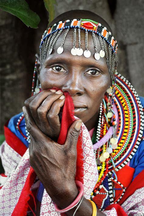 masai women masai lady portrait david lazar