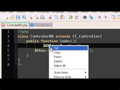 tutorial codeigniter 3 pdf codeigniter tutorial 3 passing variables youtube