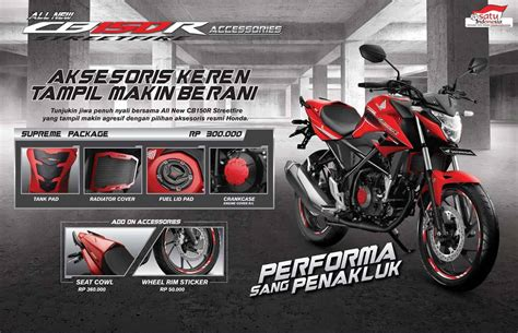 Visor Cb 150 R By Im Part Honda aksesoris new honda cb150r streetfire