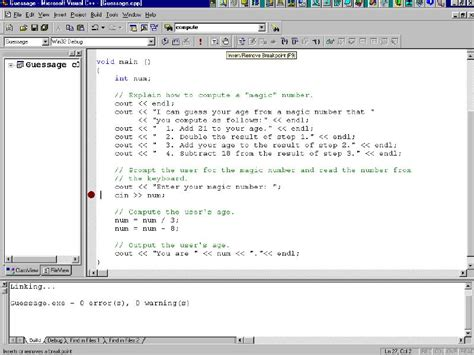 tutorial c mfc visual c debug vc debug visual c tutorial mfc