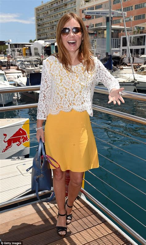 Is Geri Halliwells New The Real Thing by Geri Halliwell Pauses Honeymoon To Support Christian