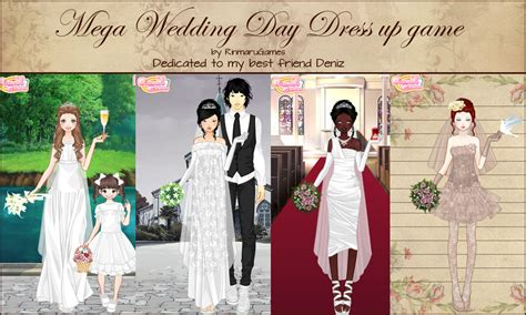 mega wedding day dress up game by rinmaru on deviantart