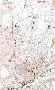 grand falls arizona map topographic map of the lava falls trail grand