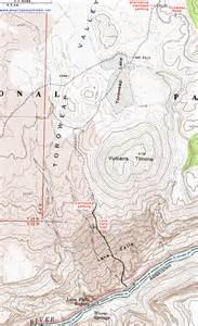 topographic map of the lava falls trail grand