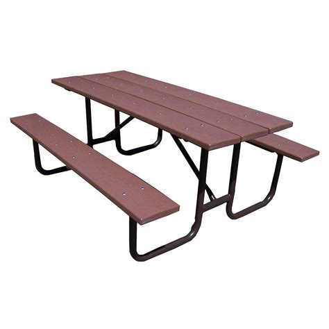 plastic tables recycled plastic picnic table 96