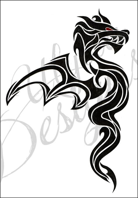red dragon tattoo designs simple tribal tattoos www pixshark images