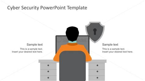 Cyber Security Solution Template For Powerpoint Slidemodel Cyber Security Powerpoint Templates Free