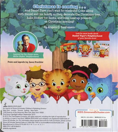 Board Book Merry Daniel Tiger By Angela C Santomero Buku merry daniel tiger the daniel tiger s neighborhood archive
