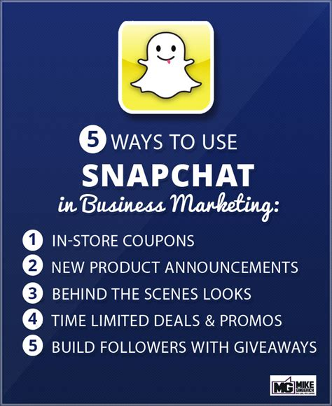 Snapchat Giveaway - how to use snapchat for business marketing