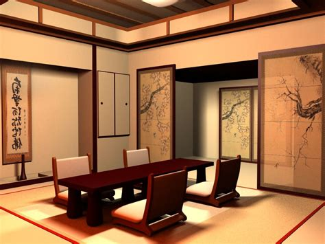Japanese Dining Room Japanese Interior Design Interior Home Design