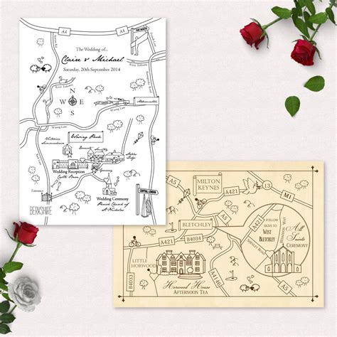 printable directions maps for invitations printable custom map wedding invitation save the date or info
