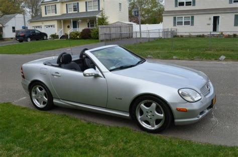 how to work on cars 2001 mercedes benz cl class regenerative braking buy used 2001 mercedes benz slk320 sport hard top convertable no reserve in east islip new