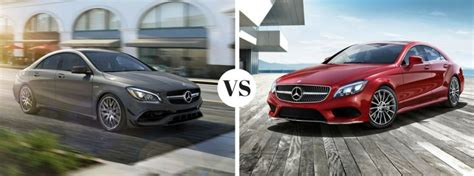 differences    mercedes benz cla  cls
