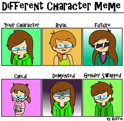 Different Meme - different character meme by jennalyx on deviantart