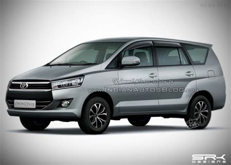 Frame Toyota Inova Side Ears 2016 toyota innova rendering with all new styling