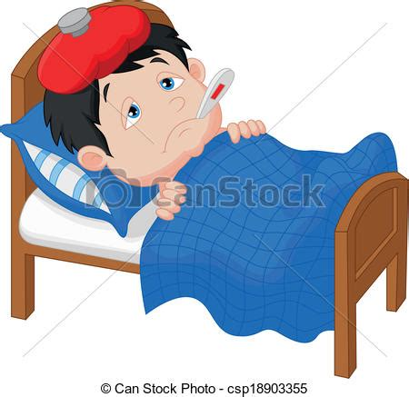 can stock photo clipart vecteur clipart de dessin anim 233 malade gar 231 on mensonge