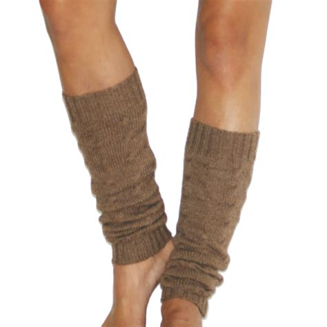 leg warmers cable knit cable knit camel leg warmers twittentwitten
