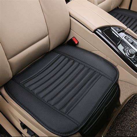 Seats Upholstery by Breathable 2pc Car Interior Seat Cover Cushion Pad Mat For