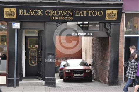tattoo salon in leeds black crown tattoo leeds tattoo studio shopping in city