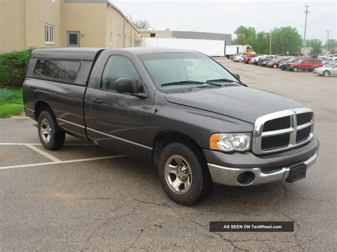 dodge ram 1500 2wd 2004 dodge ram 1500 2wd slt reg cab silver tow package 9963