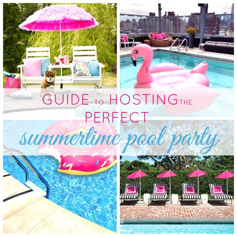 hanging party decor for the perfect summer bash guide to throwing the perfect summer pool party