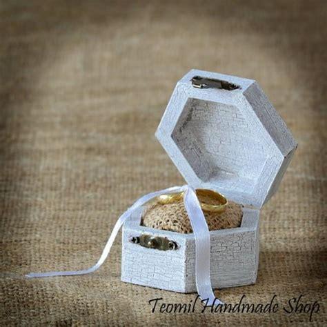Wedding Ring Box Vintage by Rustic Wedding Ring Box Antique Ring Bearer Vintage