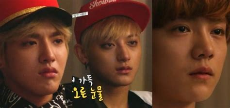 film exo member why was exo caught crying soompi