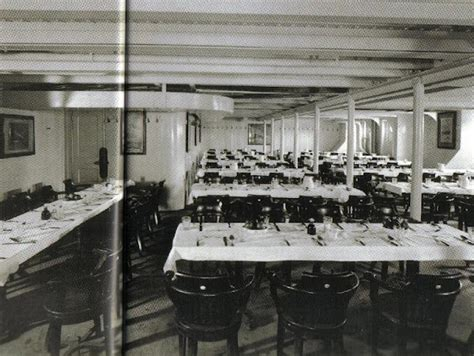 titanic dining room 3rd class dinning room f deck the titanic quot practically unsinkable quot pinterest titanic and