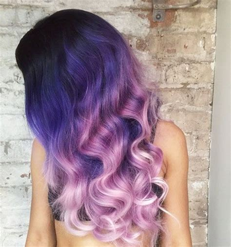 20 purple ombre hair color ideas thick hairstyles top 20 choices to dye your hair purple vpfashion