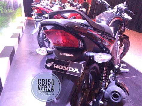 Lu Led Motor Honda Verza honda cb150 verza penakan perdana dijual mulai 19 3 juta rupiah tmcblog