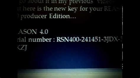 5 serial number reason 4 0 serial number