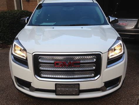 Terios Front Grille Cover Model Bentley Chrome 2013 2016 gmc acadia chrome grille insert overlay trim