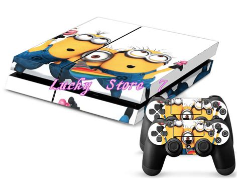 Sticker Laptop Minion 01 lovely minion skin sticker for ps4 for playstation 4