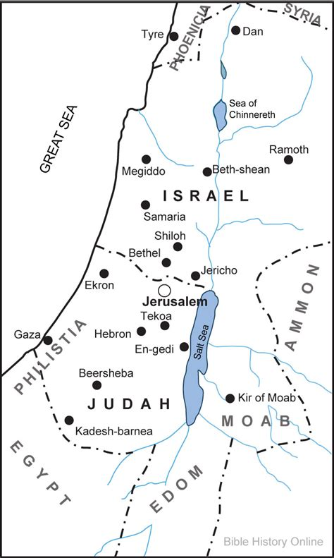 printable map israel hayovel 187 maps of israel