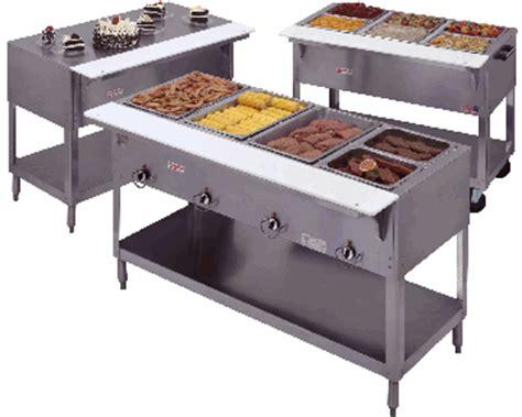 portable propane steam table duke 2 bay gas steam table