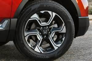 Honda Crv Rims 2017 Honda Cr V Touring Awd Test Motor Trend