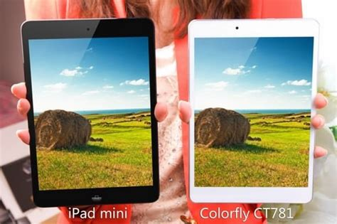 Tablet Android Cina colorfly ct781 dalla cina il tablet android che sfida