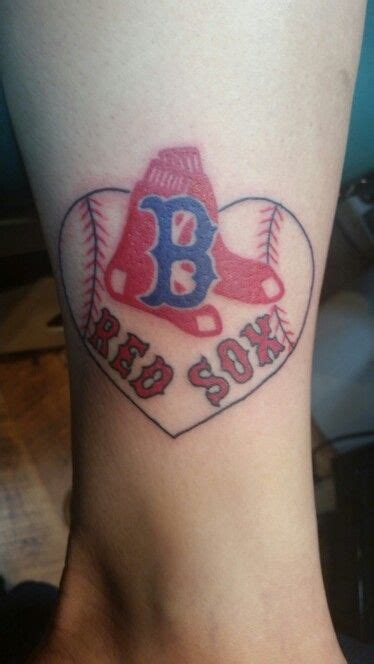 boston red sox tattoo designs new sox my talents socks