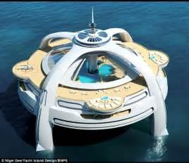 Yacht Island Design project utopia the futuristic yacht island