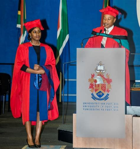 Mba Graduates In South Africa by A As Gibs Graduate Celebrates Phd In